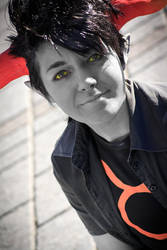 Tavros cosplay - good-natured