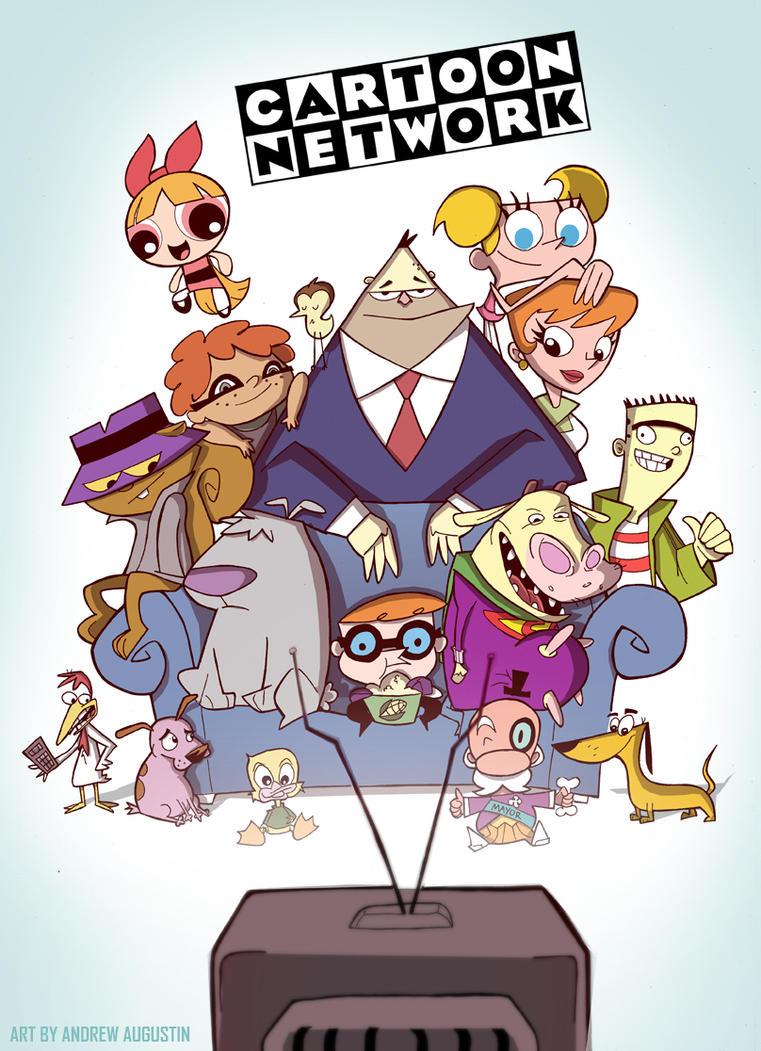 Cartoon Network 90s by DatBoiDrew