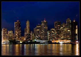 Panama at night 1 by Bighirst