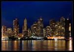 Panama at night 1