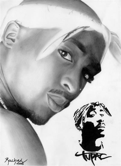 Tupac by rachel-lescrayons