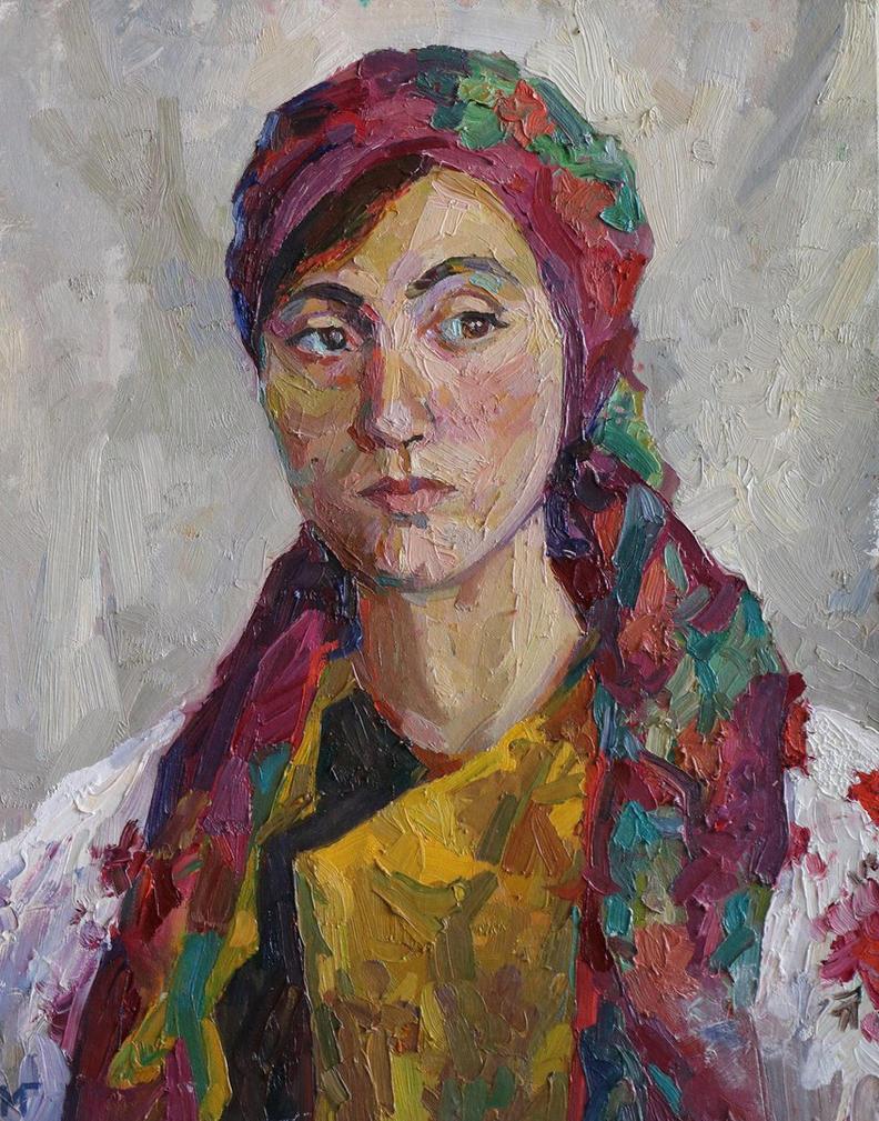 Portrait of an ukrainian woman by nukaccola