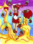 Sailor Gaara vs pineapples by kittygoth1