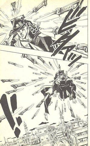 Jotaro Kujo vs Shirou Emiya: Prelude by grinderkiller1 on DeviantArt