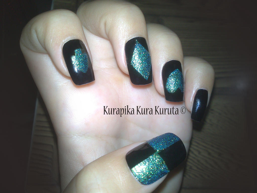 my nails design by kura404