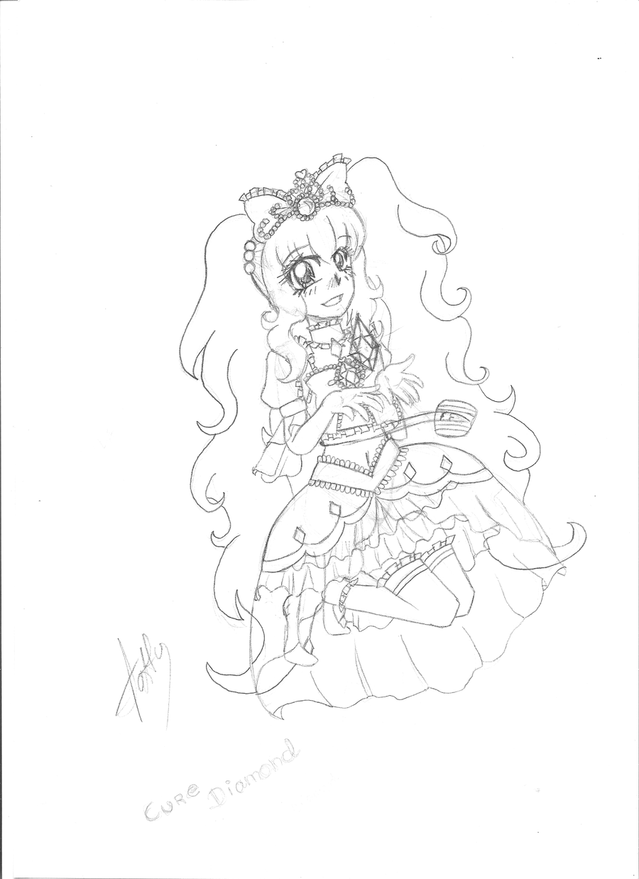 Princess Cure Diamond by Beautifltart