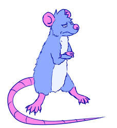 Another rat doodle by Sheeperson