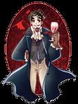 A Dandy Vampire.
