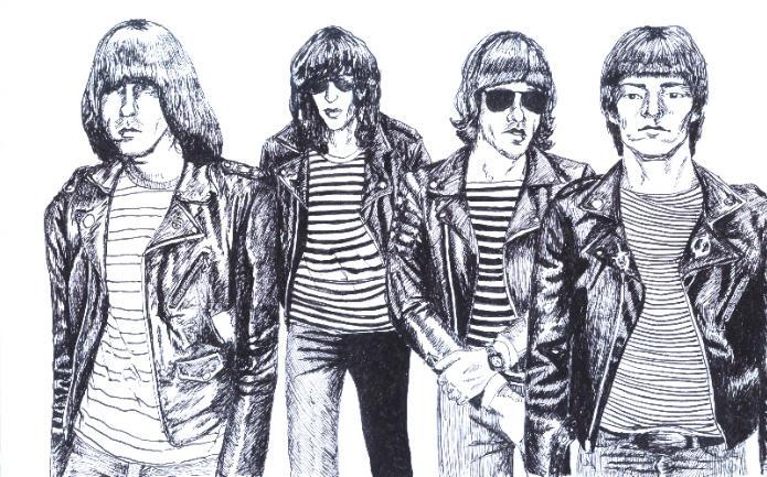 Ramones by Aiwe