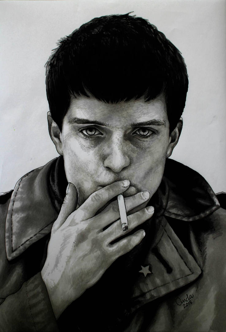 Ian Curtis  by Aiwe