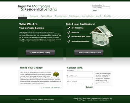 IMRL Web Design by Jayhem
