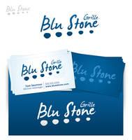 Blu Stone Grille Logo by Jayhem