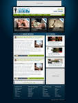 Mens Magazine Web Design