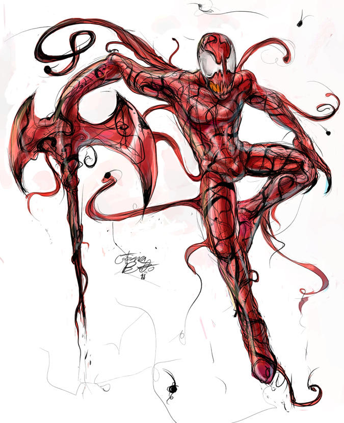 Carnage colored by TGM