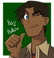 Detective Conan | Heiji Hattori by Angela-Xues-Art