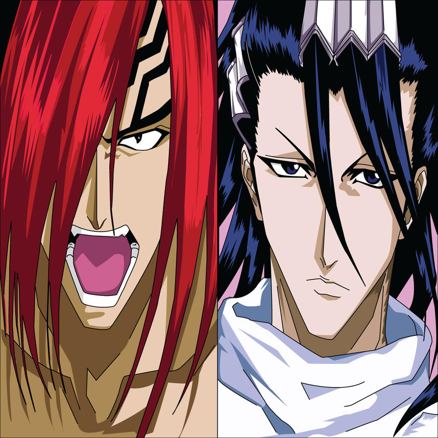 Byakuya and renji