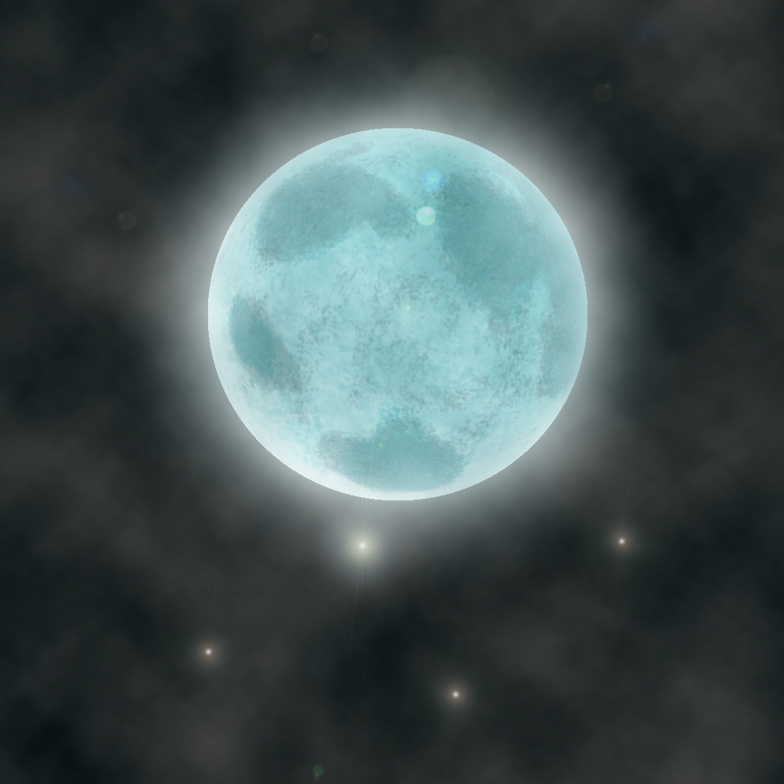 paintings of two moons - photo #13