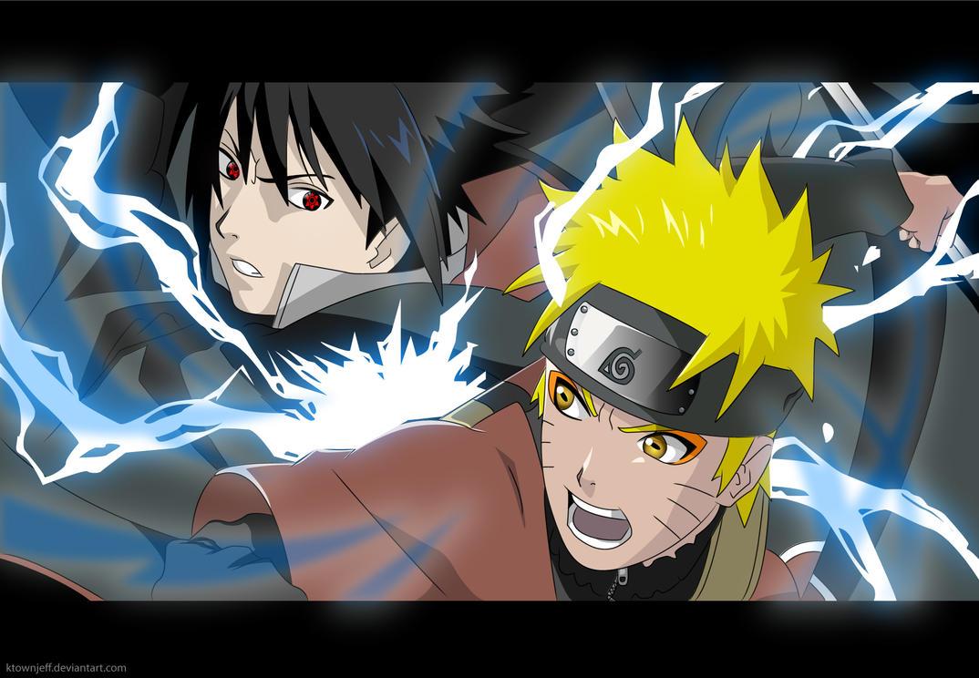 Sage Naruto Vs Akatsuki Sasuke by ktownjeff
