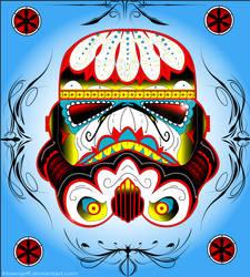 Sugar Skull Stormtrooper by ktownjeff