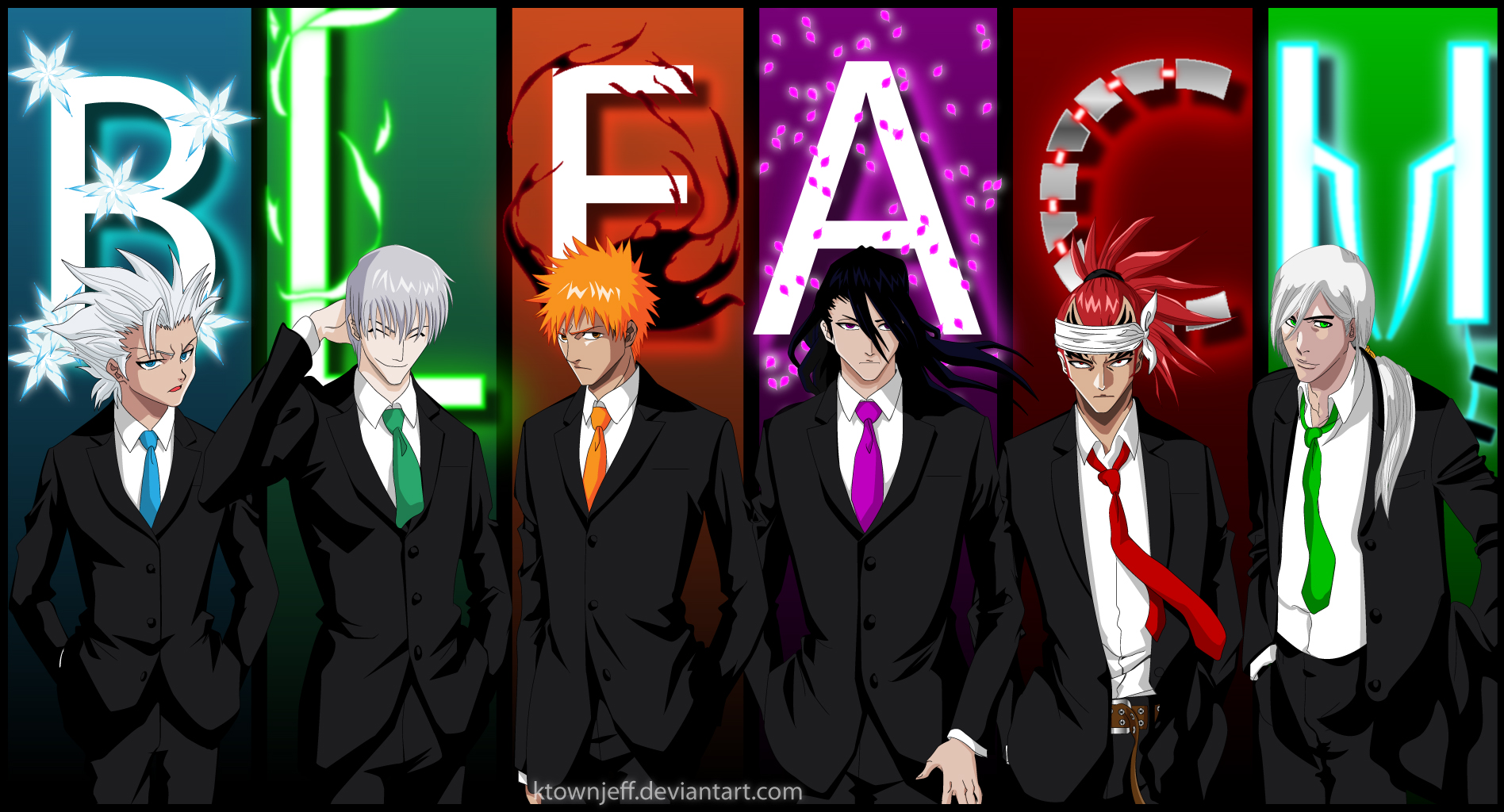 Bleach Guys by ktownjeff