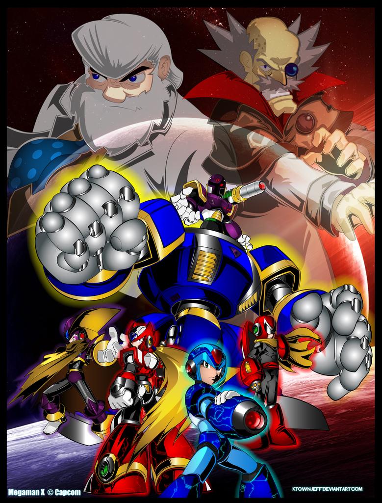 Megaman Poster by ktownjeff