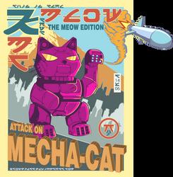 Attack On Mecha-Cat