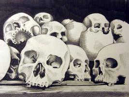 Skulls by ElliAdams