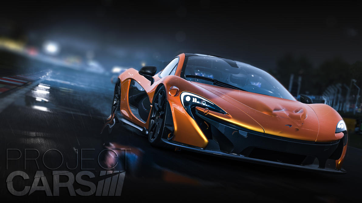 Project Cars Mclaren P1 By Bexter2k5 On Deviantart