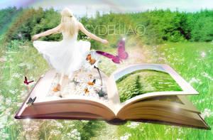 The little white dress. by sydelliatmz