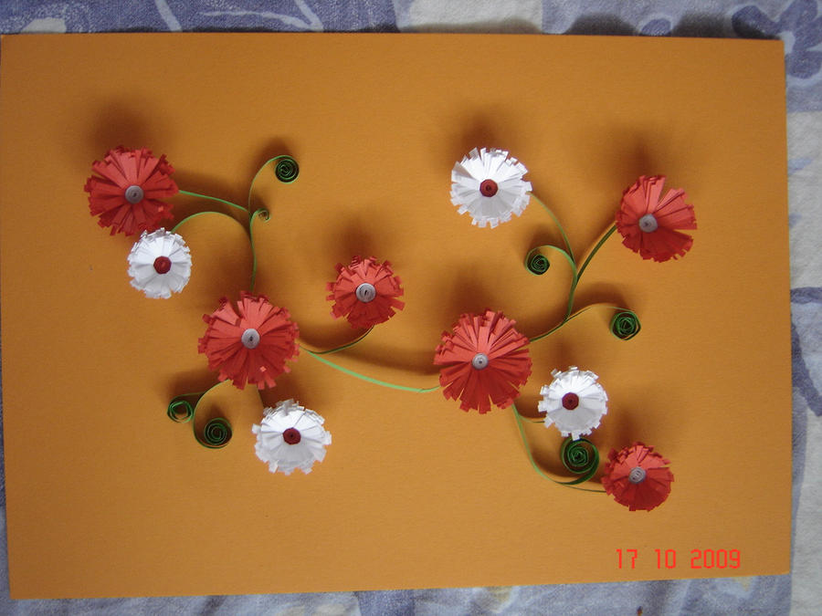 Paper quilling by kyra22 on deviantart - Paper quilling art wallpapers ...