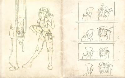 Gaia - Viviana, the Tinkerer by Lenthil
