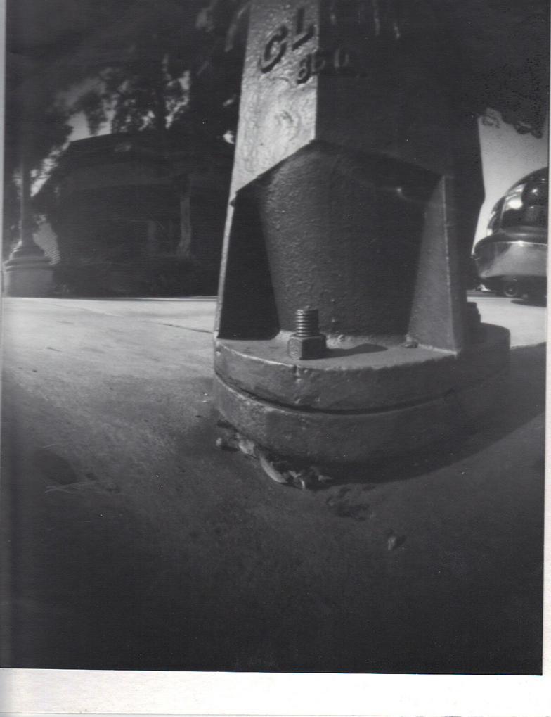 Negative Fire Hydrant by QueenieNirvana