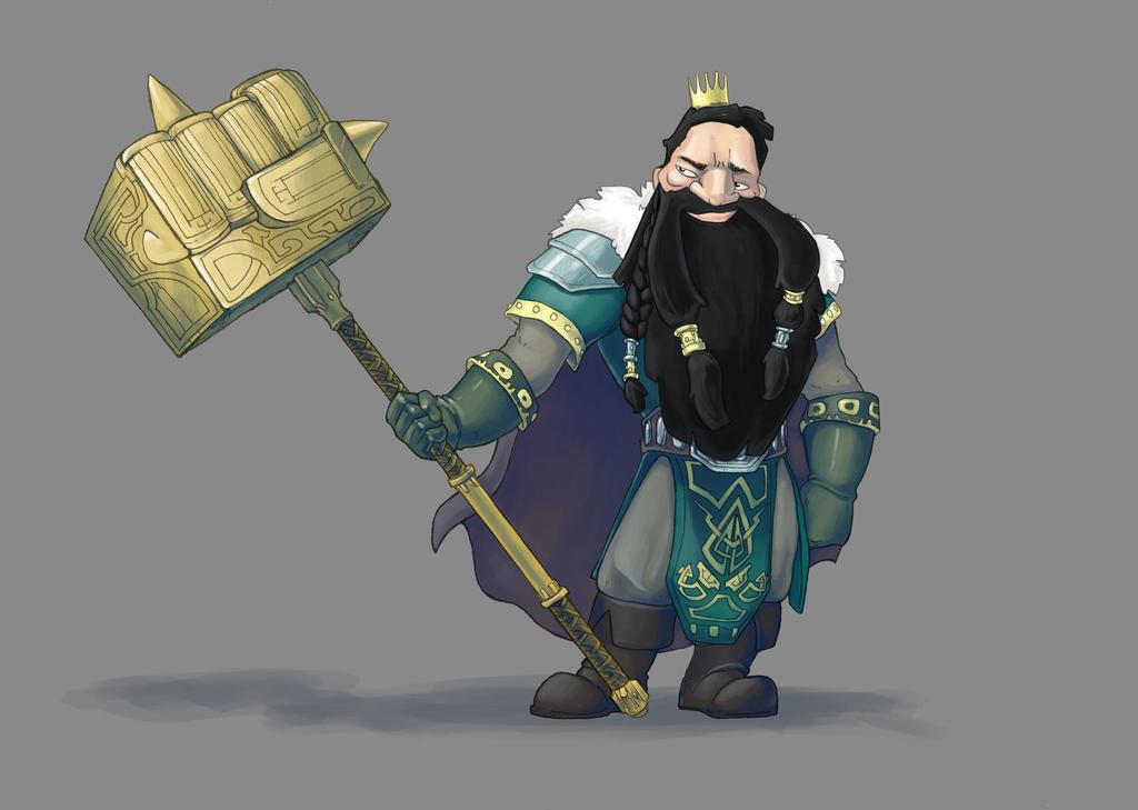 Character design : Lord Okek by Linoleumas