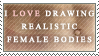 Draw Real Women Bodies by LingYao