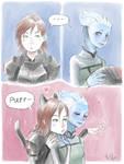 Catpard and Liara