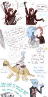 Liara Shepard Doodle Dump 2
