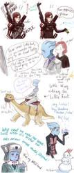 Liara Shepard Doodle Dump 2 by tilhe