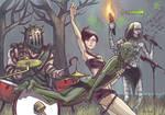 Rocking out in Huntsman's Copse (Dark Souls 2)