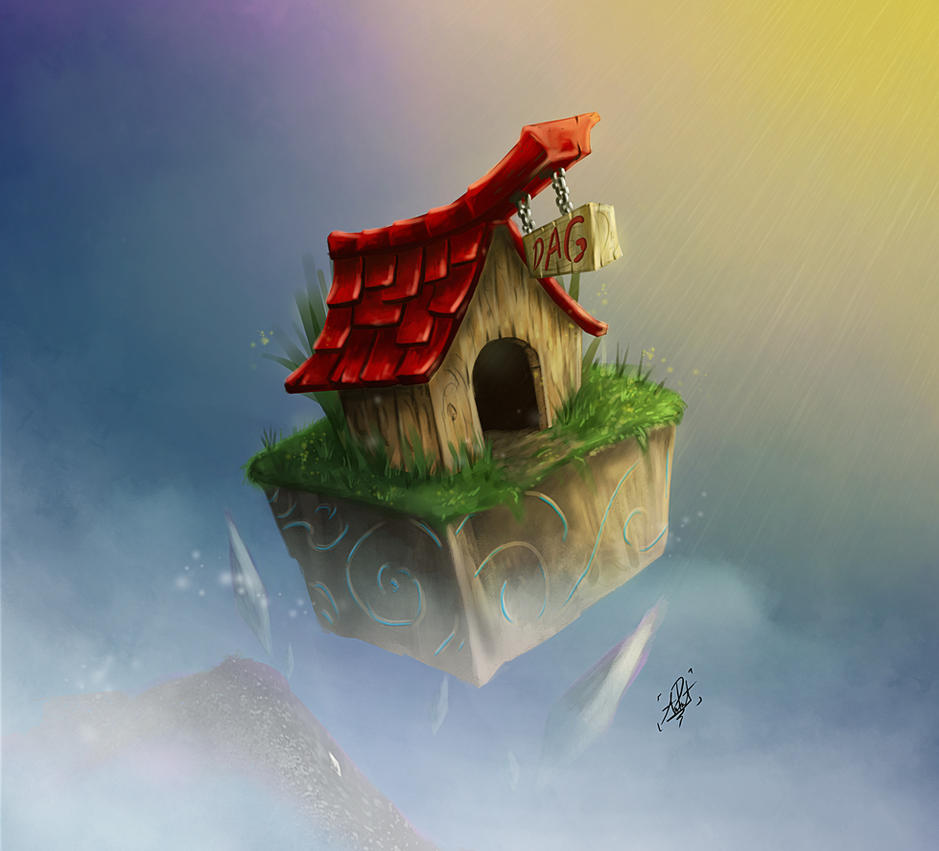 dog house-LAST VERSON by titanada