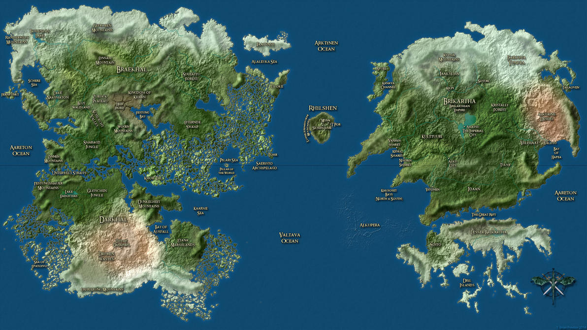 Vahl Map (Labeled) by leoshades