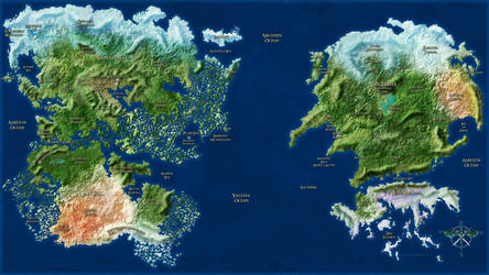 Vahl World Map 2017 by leoshades
