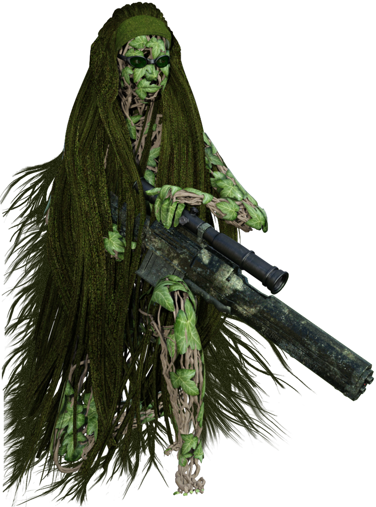 Natural Ghillie Suit by leoshades