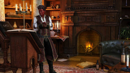 Wizard Apprentice: Palo Nutcracker by leoshades