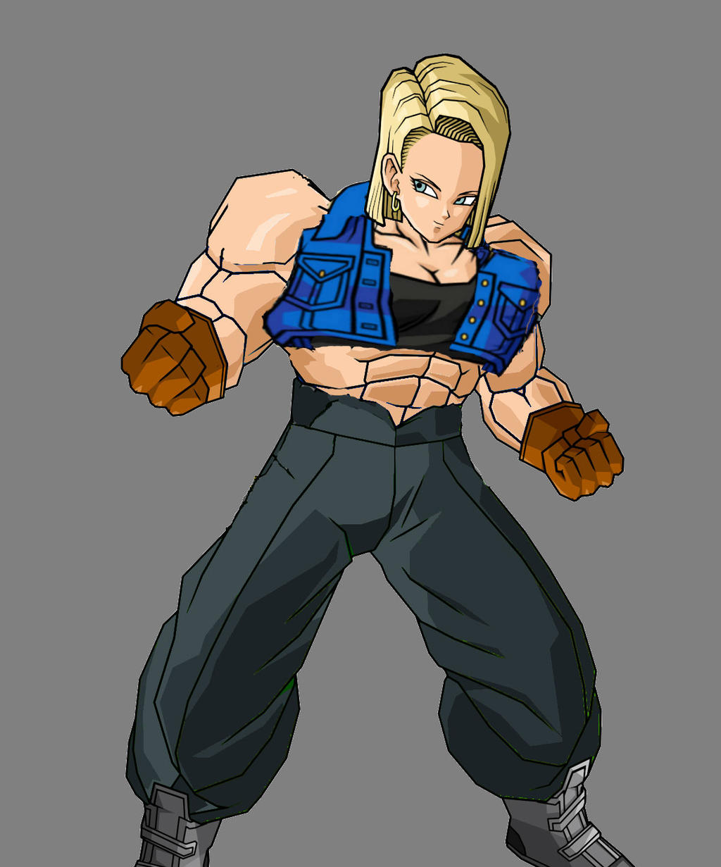 Super Android 18 by Es...
