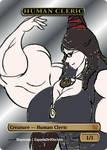 Bayonetta Human Cleric Token by EspadaDelOscuro