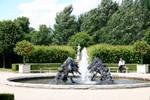 Fountain by amerindub