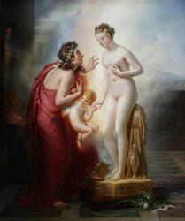 Pygmalion and Galatea by amerindub