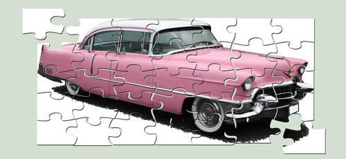 Classic Car Puzzle by amerindub