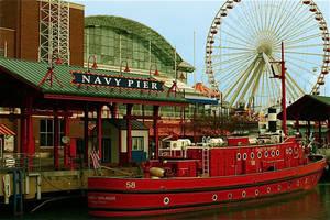 Navy Pier by amerindub