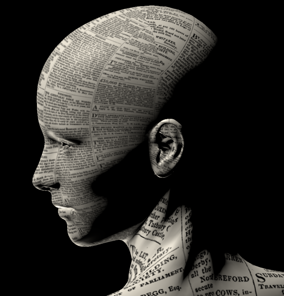 Newspaper Print Head by amerindub